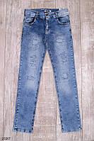 Детские - подростковые джинсы для мальчика Леонид 13-17лет