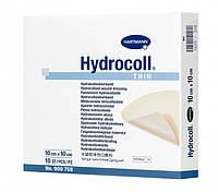 Повязка для лечения пролежней,  ожегов, трофических язв HYDROCOLL THIN гидроколлоидная, поглащающая стерильная
