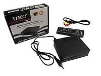 Тюнер DVB-T2 UKC 7810 YouTube с возможностью подключить Wi-Fi