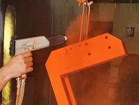Система покрытий для ремонта и перекрашивания изделий, покрытых порошковой краской