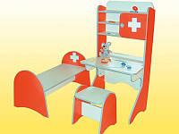 """Стенка детская """"Больница"""", Детская игровая мебель"""
