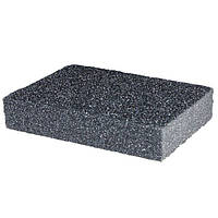 Губка для шлифования 100x70x25 мм, оксид алюминия К80 INTERTOOL HT-0908