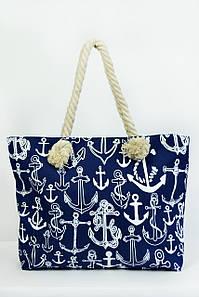 Пляжная сумка Сантьяго синяя