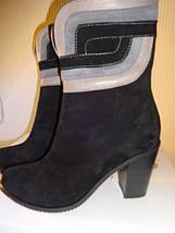 Ботинки женские натуральный замш рр 36      , фото 2