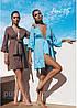 Пляжный халатик с вышивкой, Ora