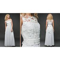 """Шикарное белое платье в пол """"Невеста"""""""