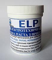 Паяльная паста с припоем ELP для пайки любых металлов 150г от производителя ИнтерТехКомплект