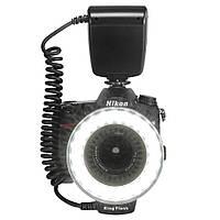 Универсальная кольцевая вспышка, Макро вспышка LED, Macro Ring Flash light для всех фотоаппаратов.