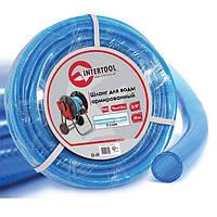 """Шланг для воды 3-х слойный 3/4"""", 30 м, армированный PVC INTERTOOL GE-4075"""