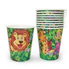 Бумажные стаканчики Джунгли уп. 10 шт