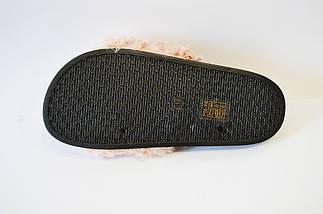 Шлепанцы женские с мехом пудра Sopra PM16, фото 3