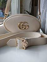 Женская сумка на пояс  Gucci (реплика)