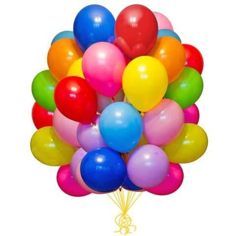 Воздушные шарики и аксессуары