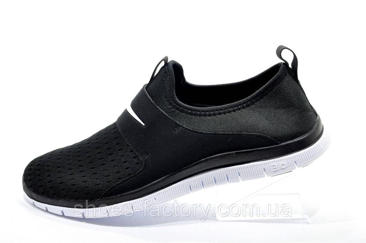 Мужские кроссовки на липучке в стиле Nike Free Run 3.0 SOCFLY, White\Black