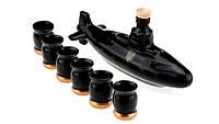 Коньячный набор Подводная лодка субмарина , 7 предметов, производство Украина, 502873620