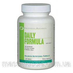 Вітаміни Універсальний DAILY FORMULA 100 tabs