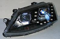 Volkswagen Jetta Mk6 2011- альтернативная тюнинг оптика фары передние на VOLKSWAGEN Фольксваген VW Jetta Mk6