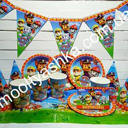 Набор для детского дня рождения Щенячий патруль, размер S