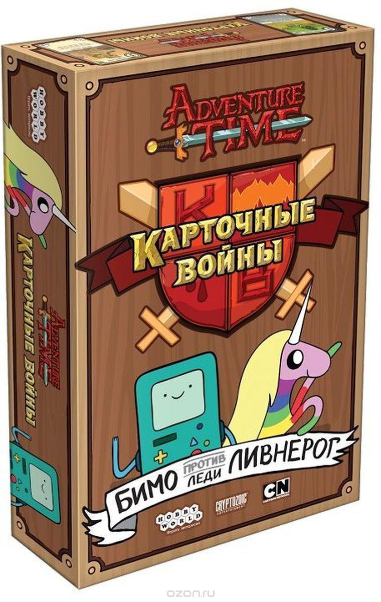 Настольная игра Время приключений Карточные войны: Бимо против Леди Ливнерог