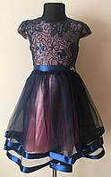 Платье для девочки,детское,нарядное,модное 5-9 лет