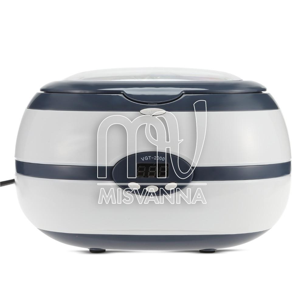 Стерилизатор ультразвуковой Ultrasonic Cleaner VGT-2000 на 35 Вт и 600 мл