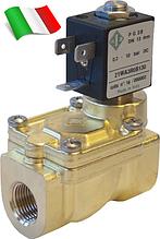 Электромагнитный клапан для воздуха 21WA3R0B130 (ODE, Italy), G3/8