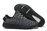 Черные летние кроссовки Adidas Yeezy Boost 350 Pirate Black M