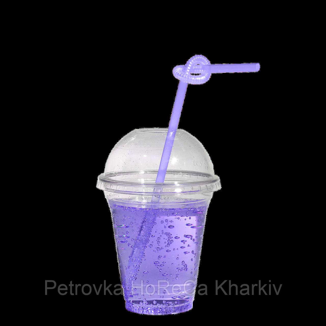 """Пластиковий Стакан під купольну кришку """"ХТМК"""" 200-250мл 75шт"""