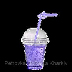 """Стакан пластиковый под купольную крышку """"ХТМК"""" 200-250мл 75шт"""