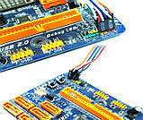 Кнопка живлення і перезавантаження з двома LED індикаторами POWER і HDD, POWER-RESET для майнінг ферм SKU0000951, фото 2