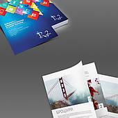 Полиграфия, еврофлаера, буклеты, листовки, визитки, наклейки, ценники, анкеты, бланки