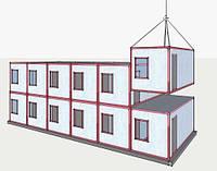 Строительство и монтаж быстровозводимых модульных зданий | Цена модульного строительства домов изготовителя, фото 1