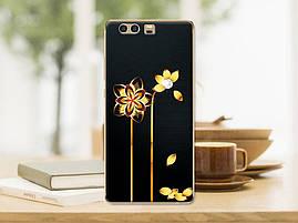 Оригинальный силиконовый бампер для Huawei honor 9 с картинкой кактусы, фото 3