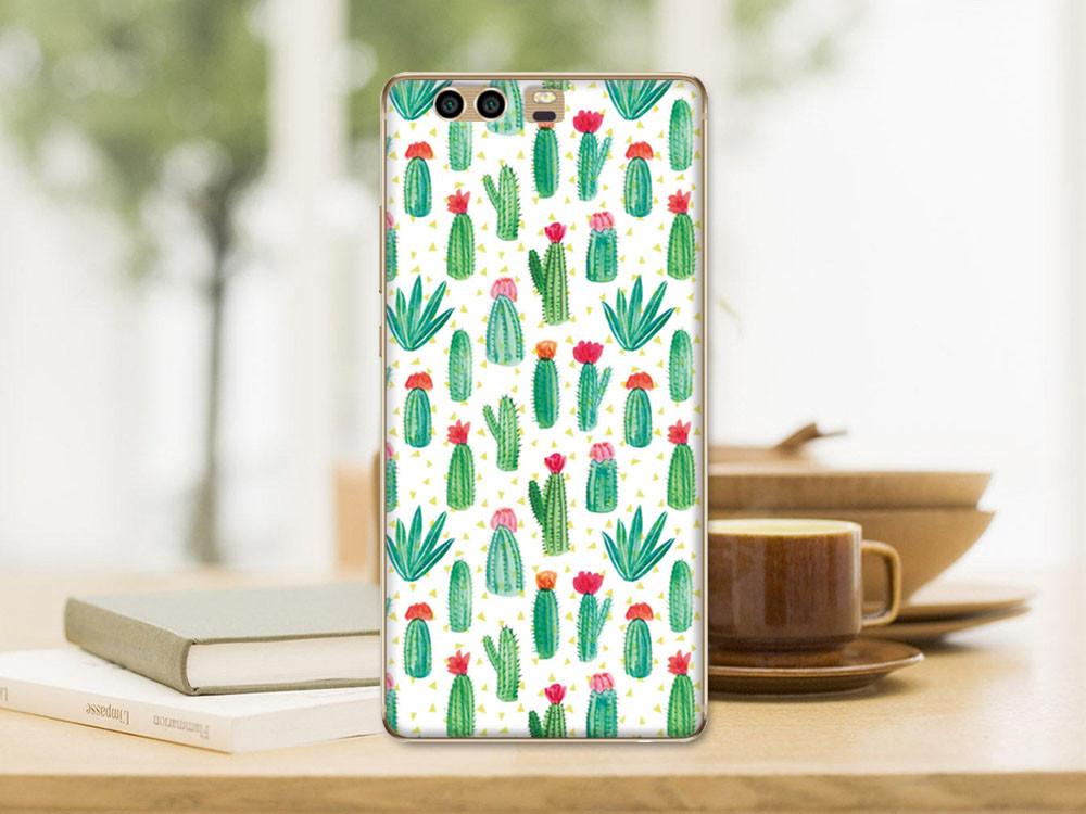 Оригинальный силиконовый бампер для Huawei honor 9 с картинкой кактусы
