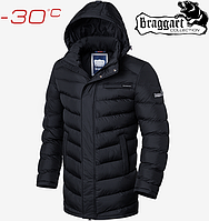 Длинная зимняя куртка мужская, фото 1
