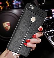 Чехол для Xiaomi Redmi 5 Plus силиконовый под кожу TPU на сяоми силикон
