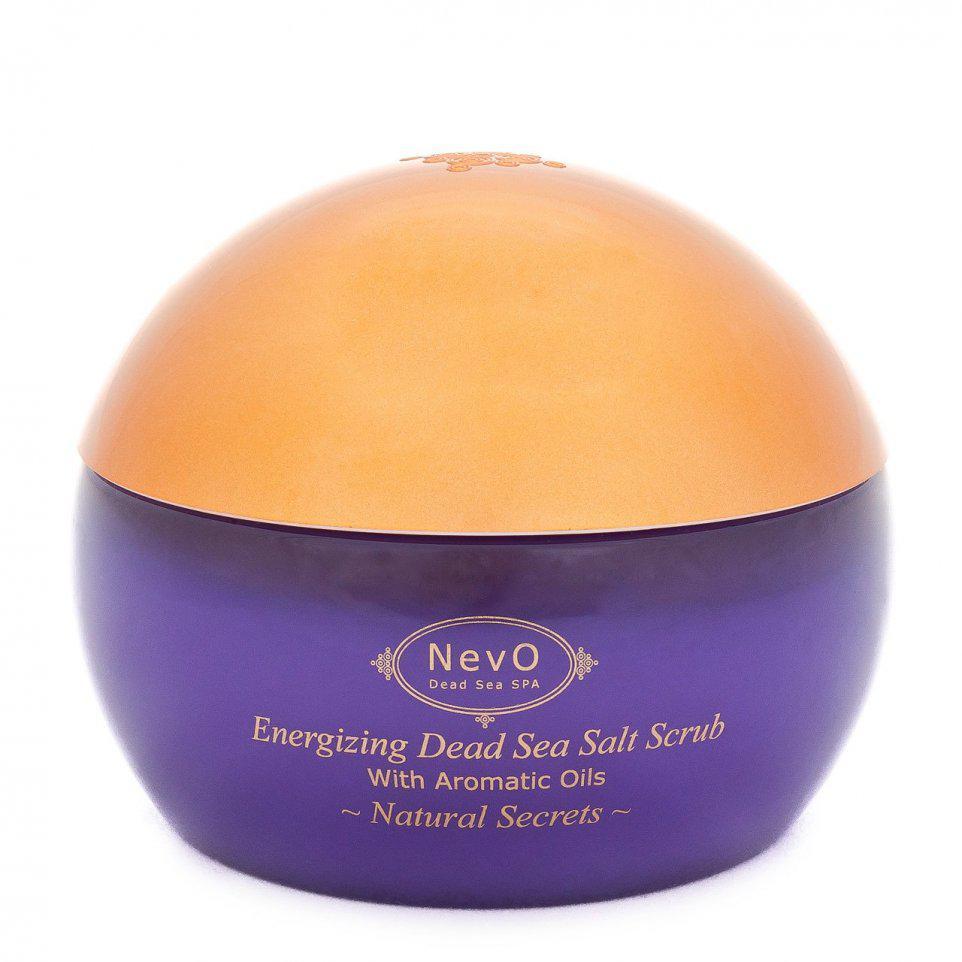 Пилинг  для тела с содержанием солей из Мертвого моря Natural Secrets 420 g