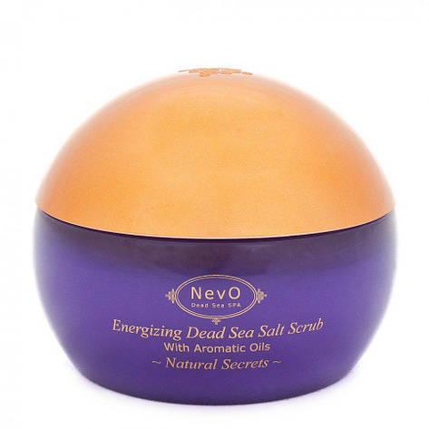 Пилинг  для тела с содержанием солей из Мертвого моря Natural Secrets 420 g, фото 2