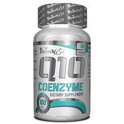Антиоксидант Natural Coenzyme Q10 100 mg (60 капс.) BioTech USA