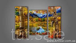 Модульная картина Пейзажи природы 2
