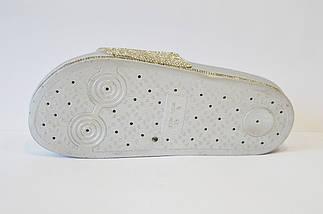 Шлепанцы серебристые Sopra PC02, фото 3