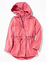 Детская котоновая куртка для девочки