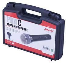 Микрофон вокальный динамический  SUPERLUX PRAC1, фото 2