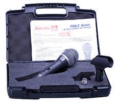 Мікрофон вокальний динамічний SUPERLUX PRAC1, фото 3