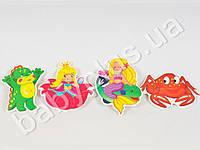 Мягкие пазлы Сказочные герои. Изготовленны из экологически чистых материалов, предназначены для детей от 2-х лет