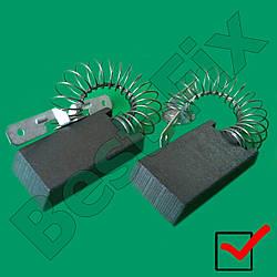 Щётки мотора 5-15-27 двухслойные с пружиной Miele