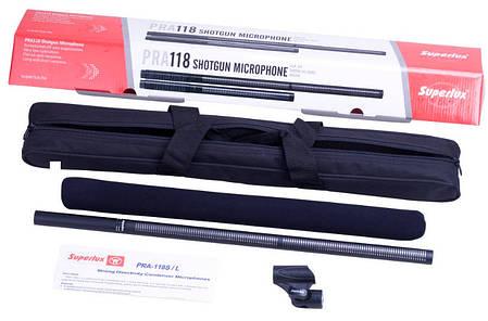 "Микрофон типа ""пушка"", конденсаторный SUPERLUX PRA118L, фото 2"