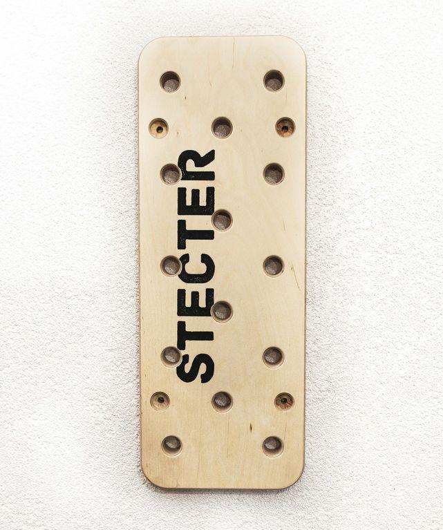 Дошка для лазіння Пегборд (Peg Board) 1500 х 300 х 40 мм
