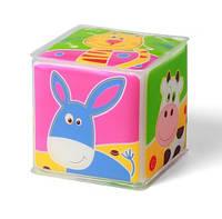 """Развивающий кубик """"Я узнаю мир""""  тм Babyono"""