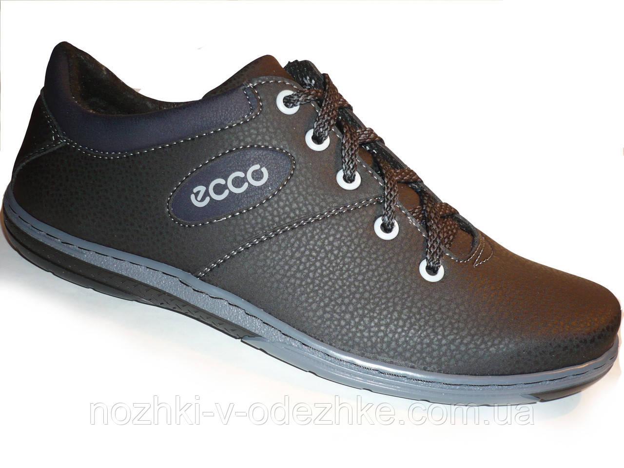 Подростковые мужские черные закрытые туфли Ecco Украина 42 р 27 c3ef5e8300afc